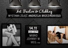 Art, Fashion And Clubbing! Snap!!