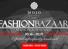 Fashion Bazaar Party Bash in club Mojo Lounge Vilnius