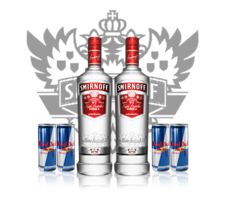 Double Smirnoff Package